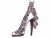La alta Costura del zapato