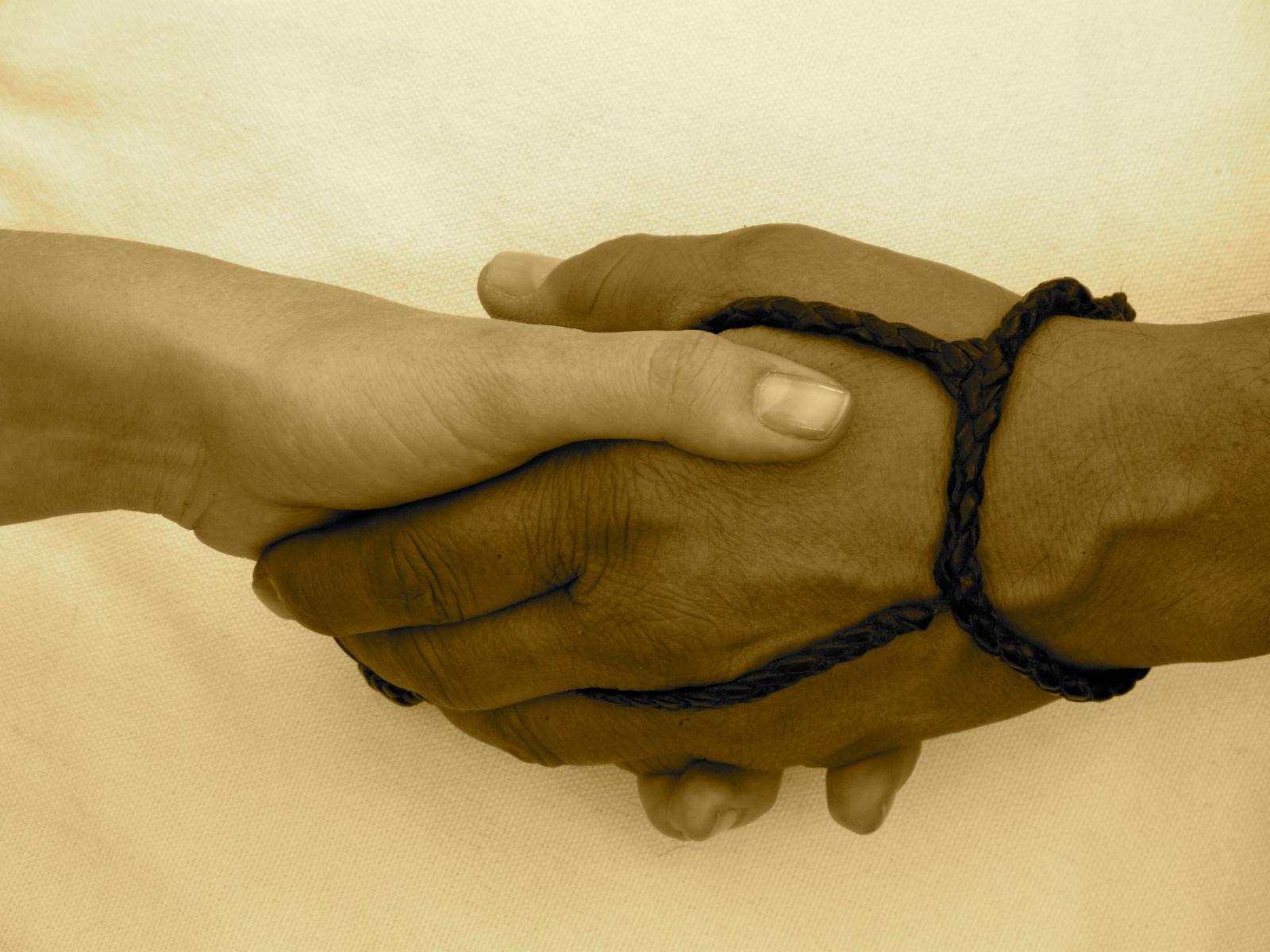 La mano de un gran artista y amigo