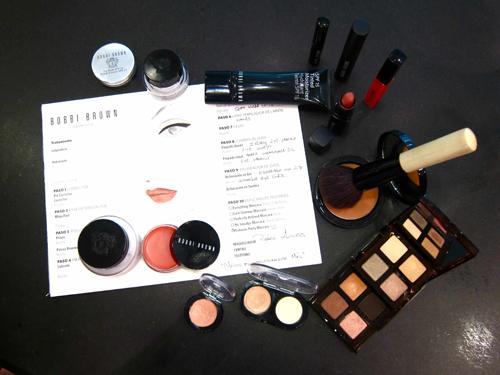 Este es el resumen de los productos utilizados en esta sesión de maquillaje