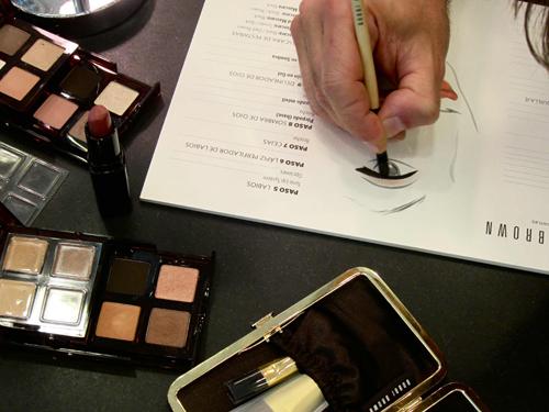 Rubén Acosta me hizo un estudio previo para definir como sería el tipo de maquillaje que me haría y los productos que iba a utilizar
