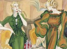 La elegancia del dibujo. Crónica de París