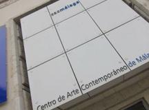 Visitando el Museo CAC Málaga.