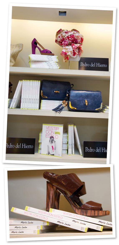 En la tienda de Pedro del Hierro se podían ver libros por todas partes