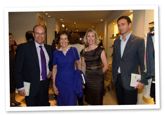 Nacho Sierra (Director General Corporativo del Grupo Cortefiel), Covadonga O´shea (Directora del ISEM Fashion Business School) y Jeanne Bracken (Directora Editorial de LID)