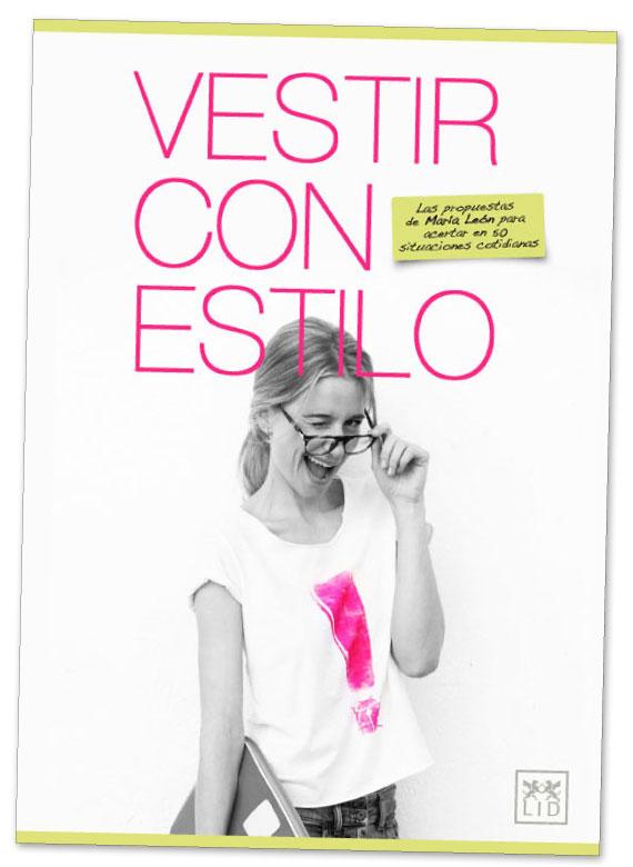 Portada del libro de María León Vestir con estilo
