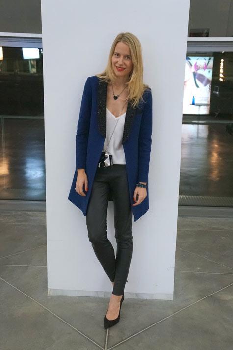 blazer azulona