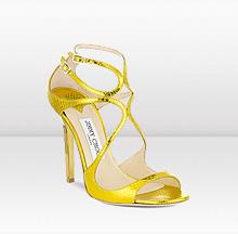 sandalia amarilla