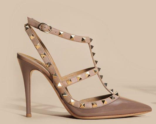 Zapatos-ocre