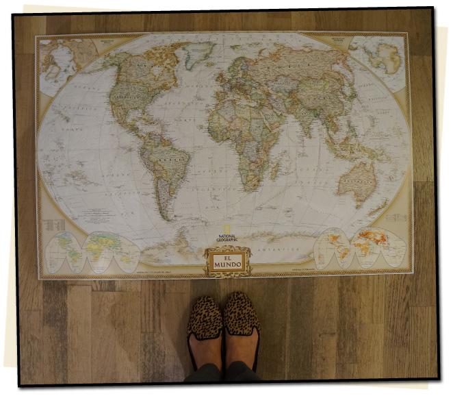 María León nos invita a descubrir el mundo con  Geografica XXI