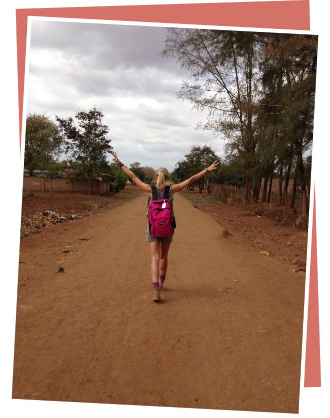 Fin de viaje de María León en Mozambique