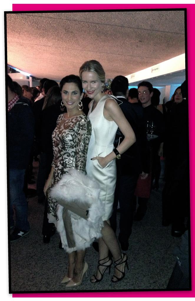 María León con Toni Acosta