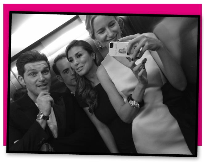 Momentos divertidos en el ascensor con Manu Tenoria, su mujer Silvia Casas y José Balaguer