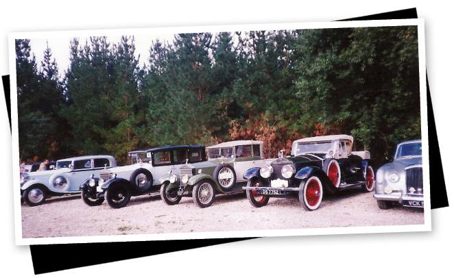 En 1997, también hubo una gran concentración de Rolls-Royce