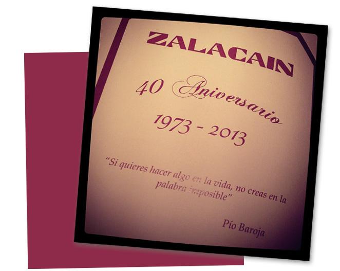 Cena romántica en el restaurante Zalacaín