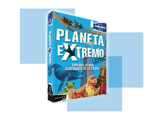 """Planeta Extremo"" de Lonely Planet."