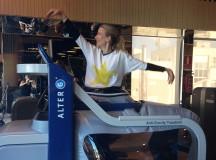 La experiencia de correr sin gravedad en Reebok Sports Club Madrid