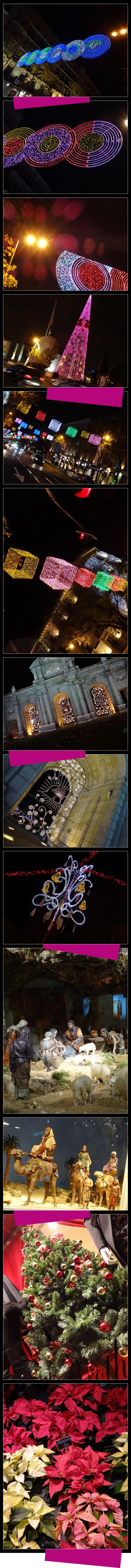 Fotos de María León de la Navidad en Madrid con la nueva SONY QX10