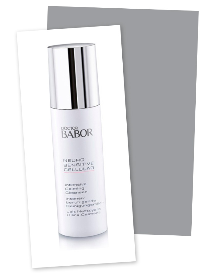 Neuro Sensitive Intensive Calming Cleanser de Babor.