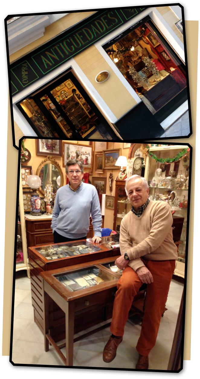 María León y la tienda de antigüedades de los Bastilippo en Sevilla