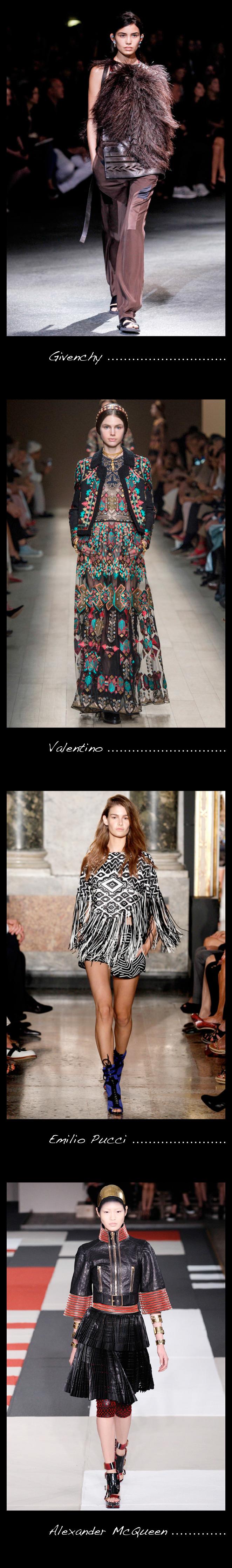 María León nos presenta es estilo étnico de las principales firmas de moda.
