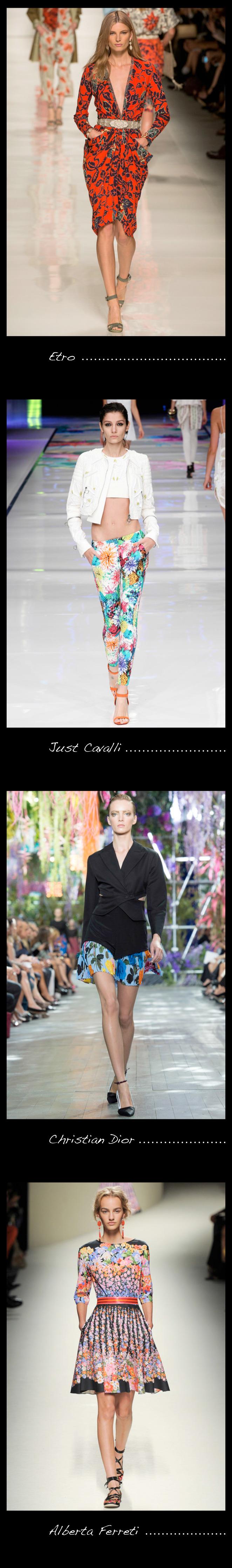María León nos recomienda hacernos con un estampado en flores, aquí los modelos de las principales firmas de moda.