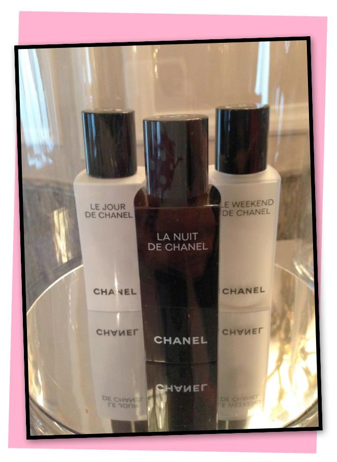 Le Jour, La Nuit y Le Weekend, de Chanel.