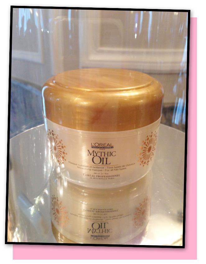 Mythic Oil Nourishing Masque, de L'Oréal Professionnel.