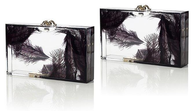 Charlotte-Olympia-Spring-2012-Pandora-Feather-Clutch