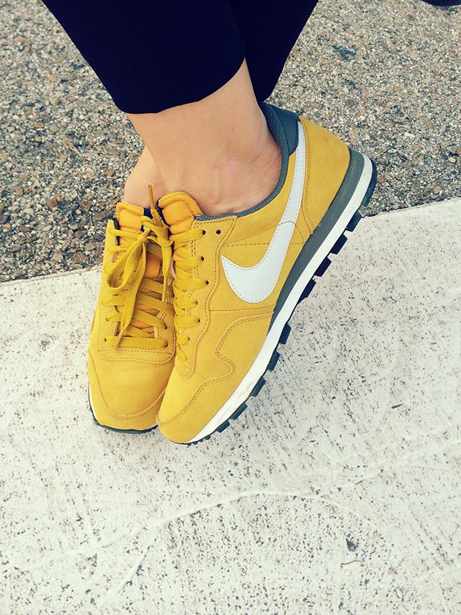 Zapatillas Nike de María León.