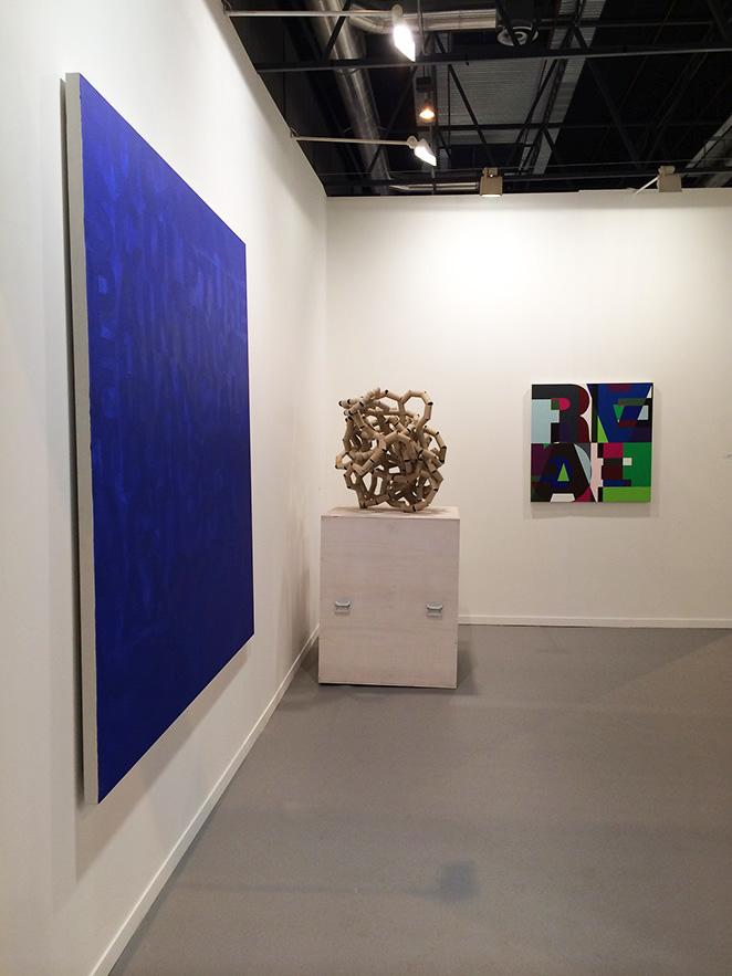 María León en ARCO Madrid con obras de la galería