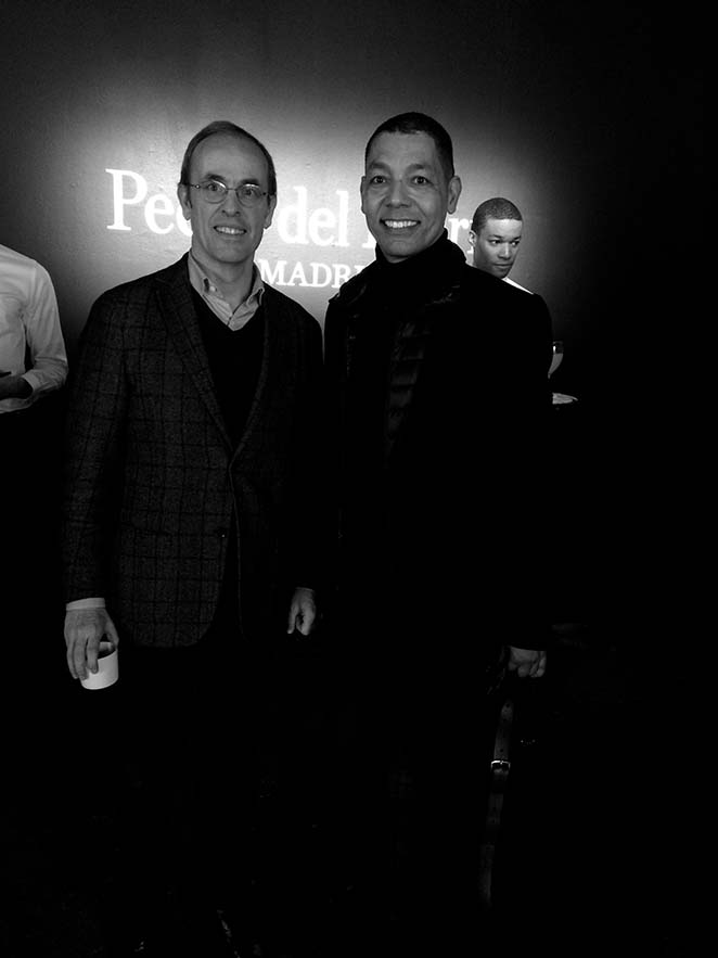 Importantes líderes de opinión neoyorkinos y periodistas de moda española.