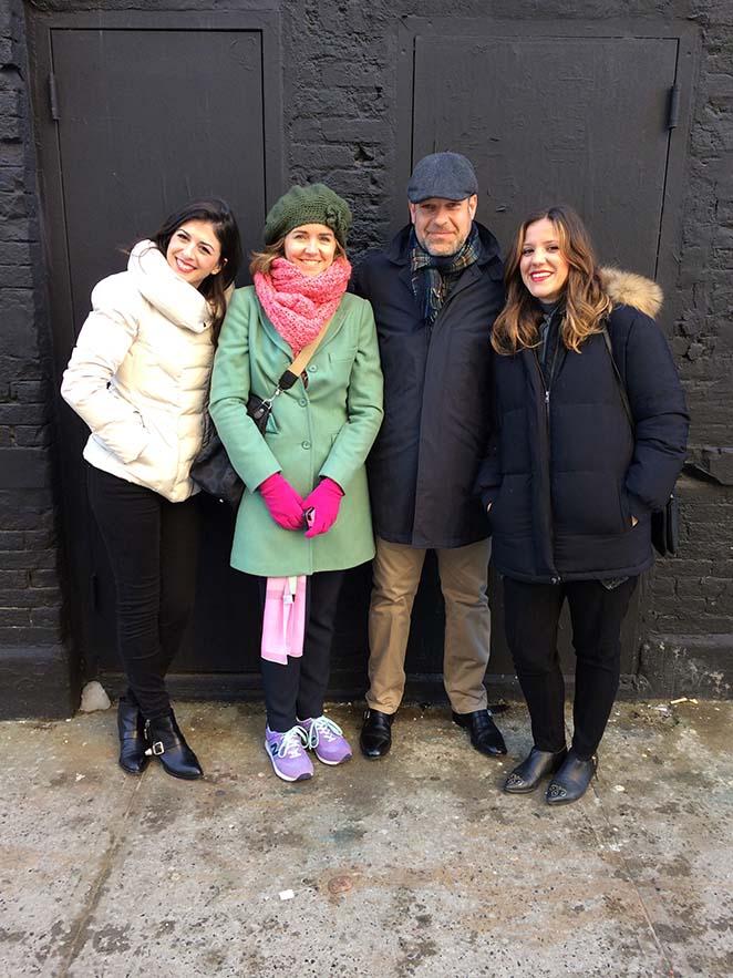 El equipo corporativo y de marketing del Grupo Cortefiel en Nueva York