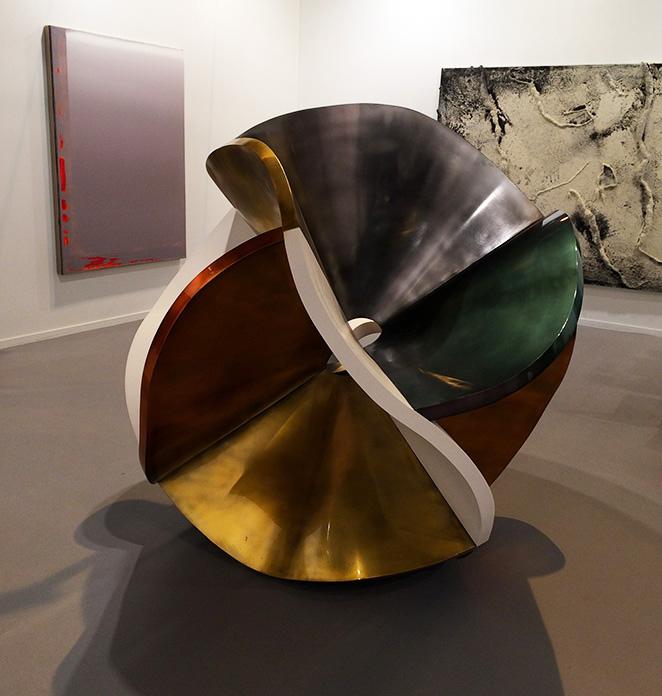 La escultura de Peter Krauskopf de la Galería Álvaro Alcázar.