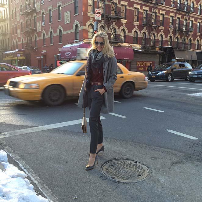 María León en Nueva York