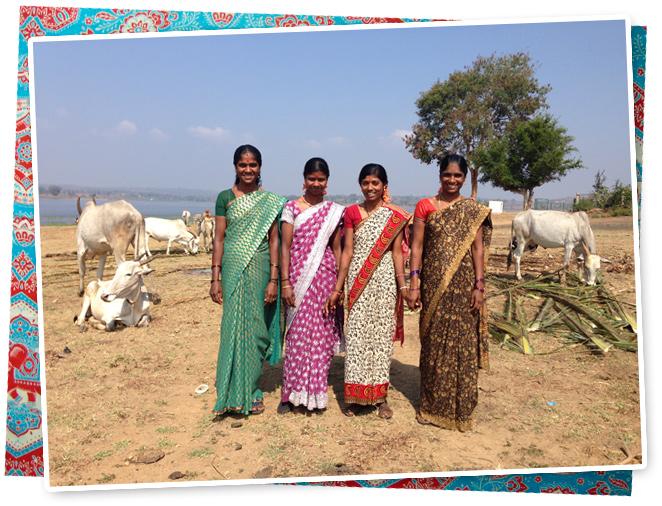 El estilo de las mujeres de la India