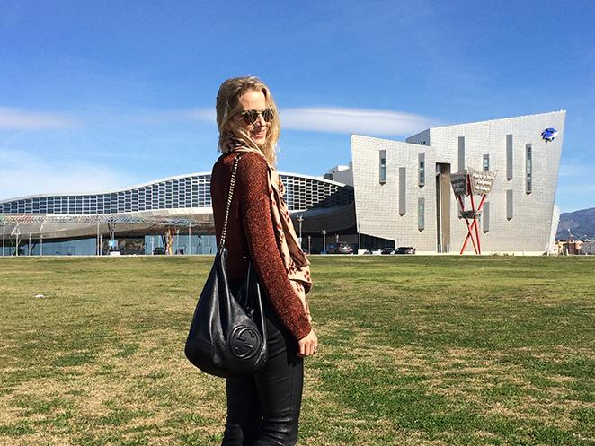 Sesión de fotos de estilo moda María León