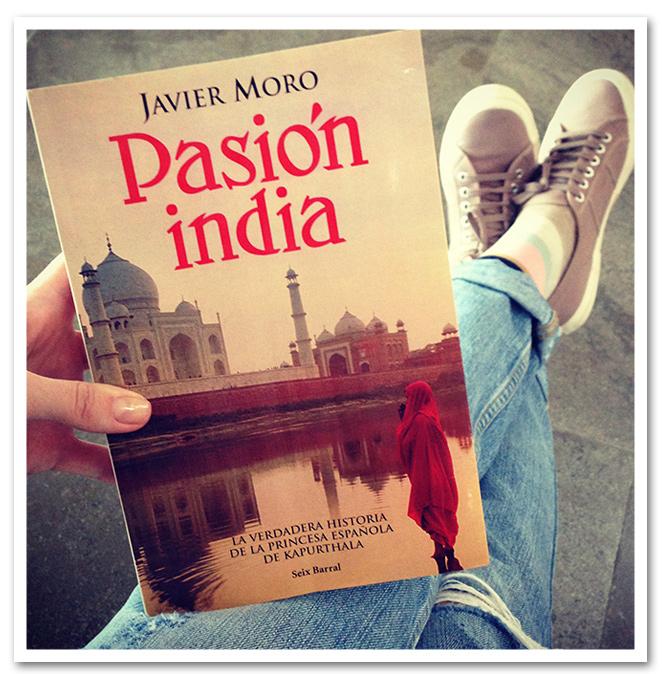 """Un buen libro de viaje a India:  """"Pasion India"""" de Javier Moro"""
