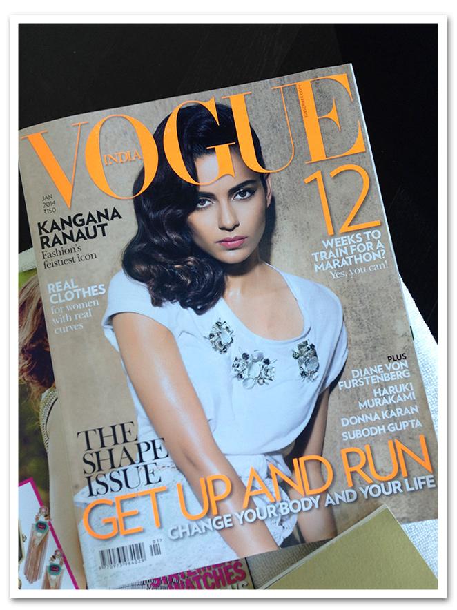 Revista de moda Vogue edición India