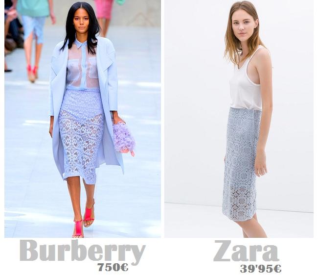 Como combinar la falda de Zara de Vanessa