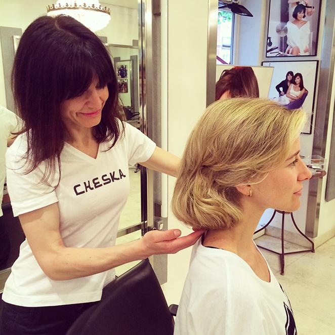 Los impresionantes peinados de Cheska, el maquillaje de Bobbi Brown y la manicura de Nails Couture