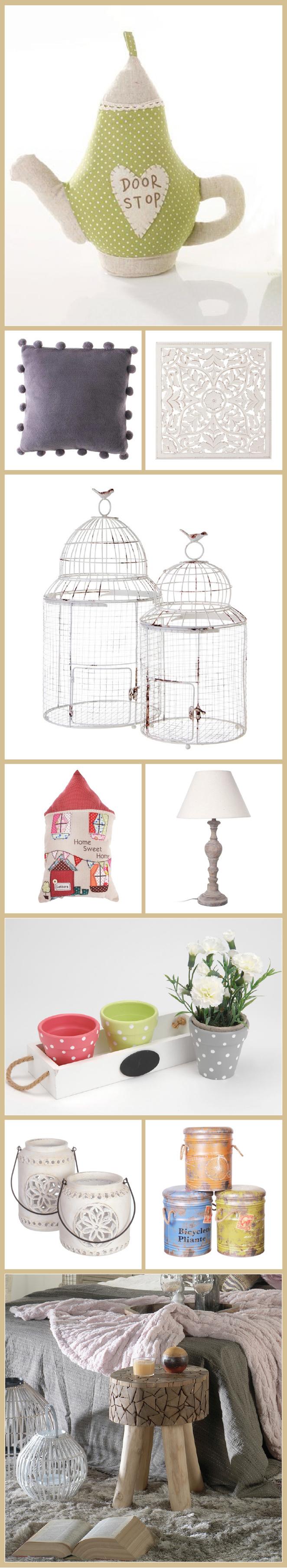 Selección de complementos decorativos, vajillas, cristalerías, alfombras y elementos de iluminación de muebles Banak
