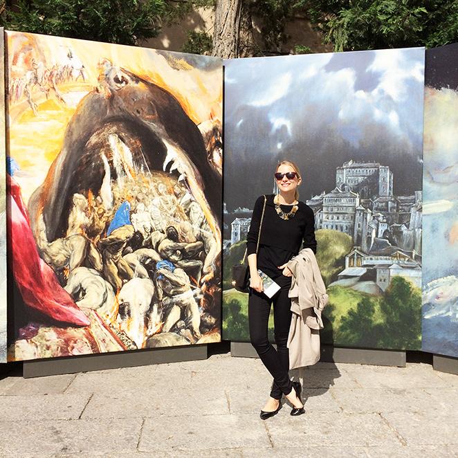 María León en Toledo en el centenario de El Greco