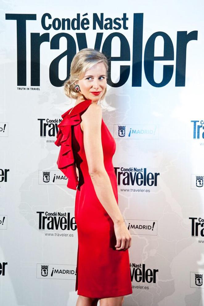 María León en los premios de la revista de viajes Condè Nast Traveler