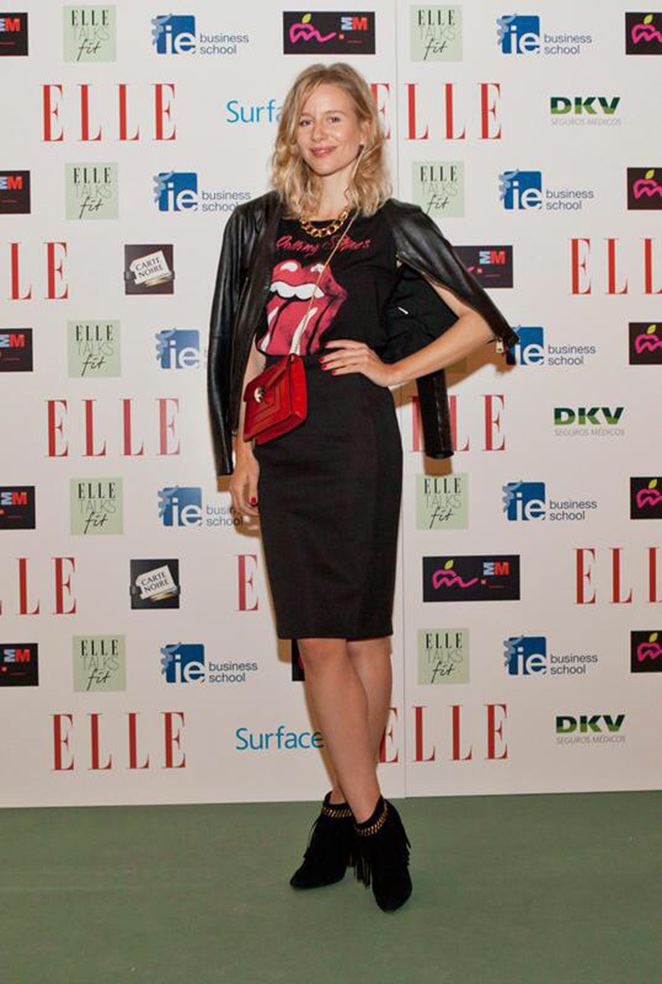 Photocall de María León en los Elle Talks