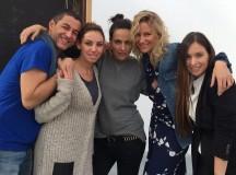 Making Of de una gran sesión de fotos para la revista de moda Elle España