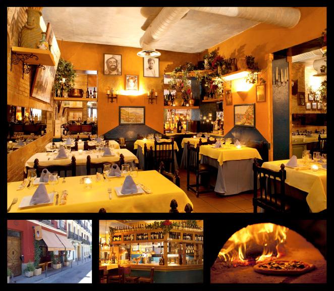 Restaurante Pulcinella. Calle de Regueros, 7
