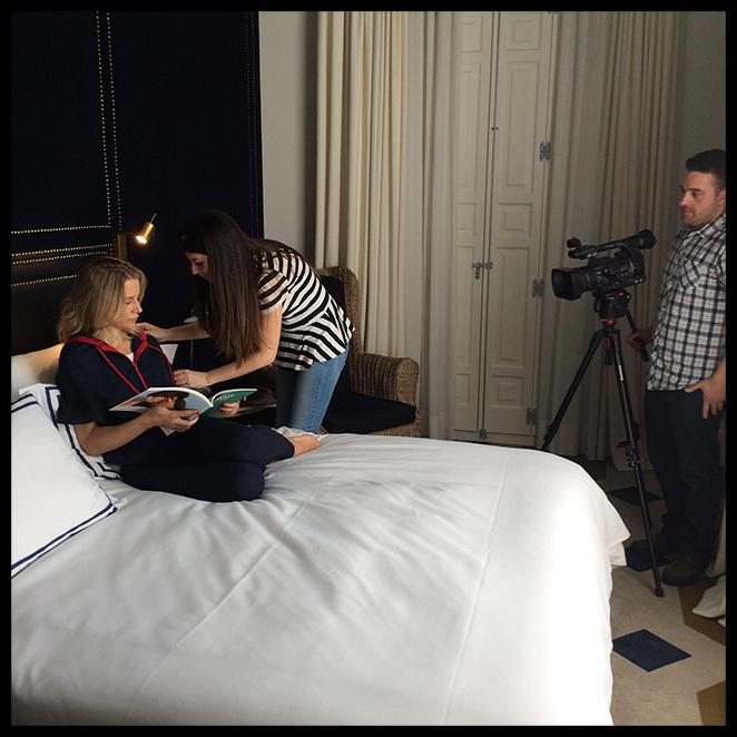 Making of con el equipo de Pedro del Hierro y María León en el Only You Hotel & Lounge