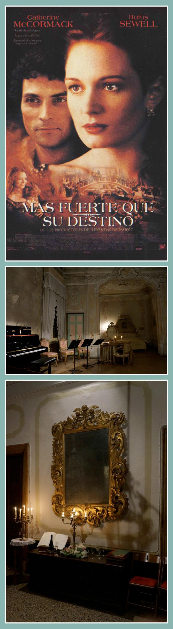 Concierto en el interior de un palacio veneciano organizado en Musica Palazzo