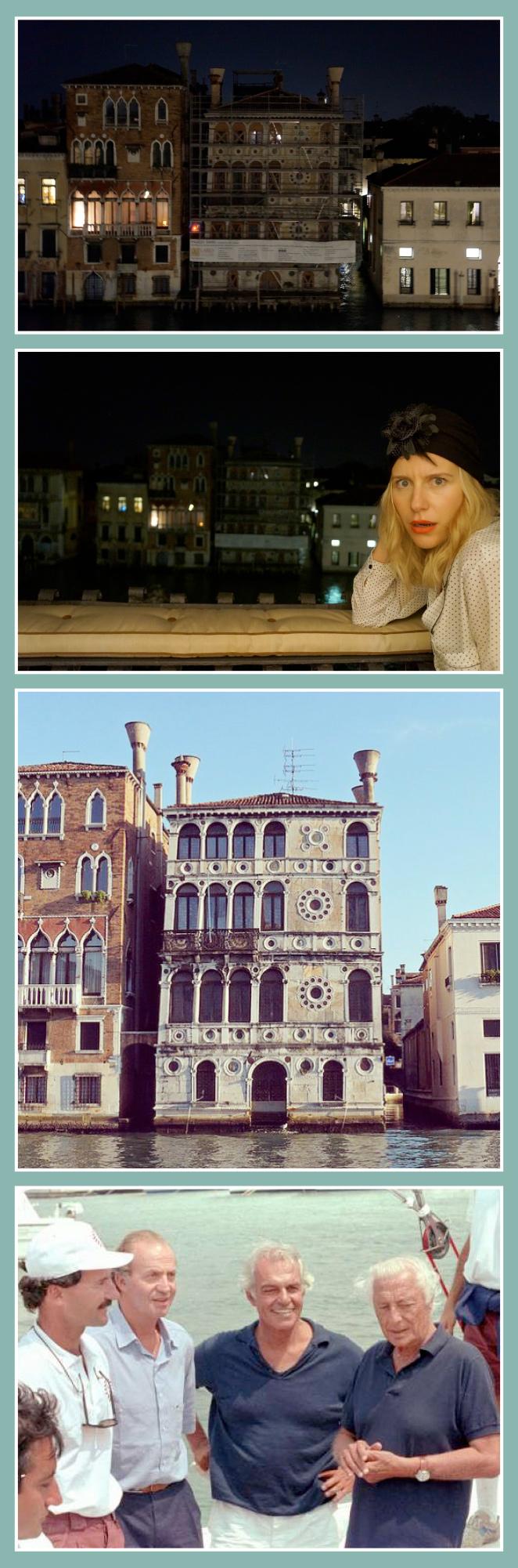 Palacio situado justo enfrente de la casa de los amigos de María León, Palazzo Dario, que detrás de él se esconden un sinfín de historias terribles