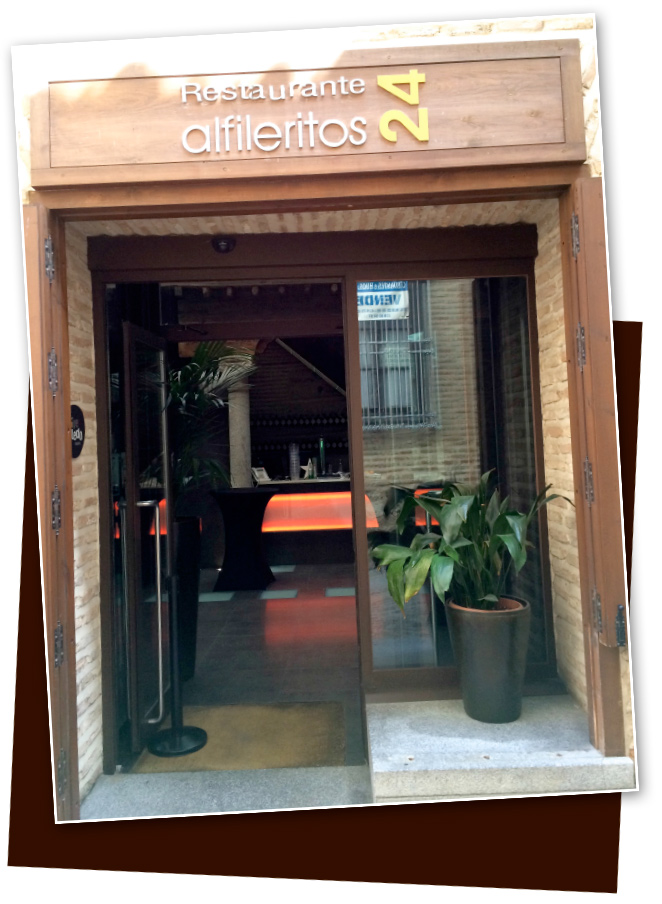 Restaurante alfileritos 24